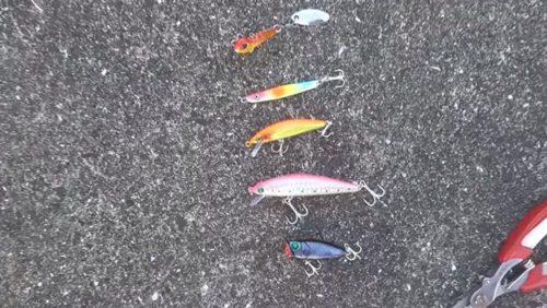 海釣り ルアー種類
